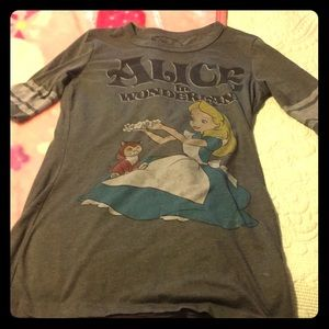 Alice in wonderland baseball jersey tee